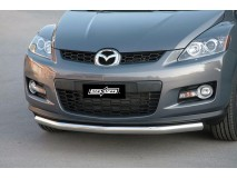Front Protection Mazda CX-7 08-10 Inox 76ММ
