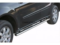 Side Steps Mercedes-Benz ML 06-12 Stainless Steel GPO