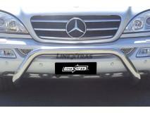 Big Bar U Mercedes-Benz ML 270/400 CDI 02-05 Stainless Steel 76MM W/O EC