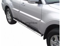 Side Steps Mitsubishi Pajero 2007+ 5D Stainless Steel GPO