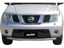 Front Protection Nissan Pathfinder 05-11 Stainless Steel 76ММ