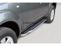 Side Steps Nissan Pathfinder 05-11 Stainless Steel W/ Platform