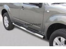 Side Steps Nissan Pathfinder 05-11 Stainless Steel Tube 76MM