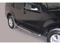 Side Steps Nissan Pathfinder / Pathfinder V6 2011+ Stainless Steel W/ Platform
