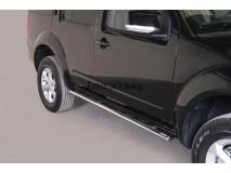 Side Steps Nissan Pathfinder / Pathfinder V6 2011+ Stainless Steel GPO