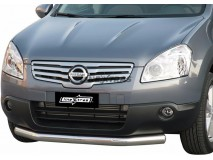 Front Protection Nissan Qashqai +2 2008+ Stainless Steel 76ММ