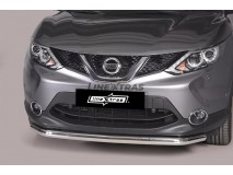 Front Protection Nissan Qashqai 2014+ Stainless Steel 63ММ