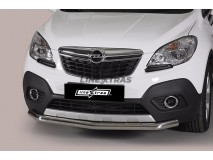 Front Protection Opel Mokka 12-16 Stainless Steel 63ММ