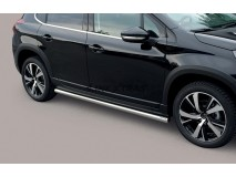 Side Protections Peugeot 2008 2016+ Stainless Steel Tube 63MM