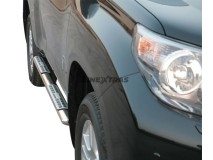 Side Steps Toyota Land Cruiser 150 09-13 5D Stainless Steel DSP