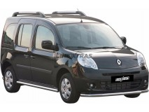 Front Protection Renault Kangoo 08-13 Stainless Steel 63ММ
