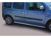 Side Protections Renault Kangoo 2008+ Stainless Steel Tube 63MM