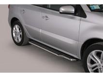 Side Steps Renault Koleos 2008+ Stainless Steel W/ Platform