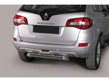 Rear Protection Renault Koleos 2008+ Stainless Steel 76MM