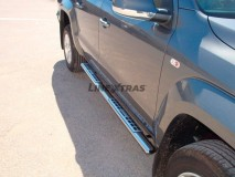 Side Steps VW Amarok DC Stainless Steel DSP