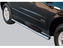 Side Steps Ssangyong Actyon 2006+ Stainless Steel GPO