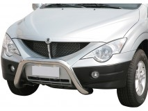 Big Bar U Ssangyong Actyon Sports 07-12 Stainless Steel 76MM W/ EC