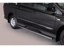 Side Steps Ssangyong Actyon Sports 2012+ Stainless Steel GPO