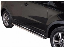 Side Steps Ssangyong Korando 2011+ Stainless Steel GPO