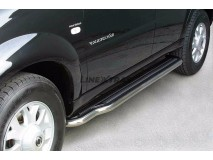 Side Steps Ssangyong Rexton 04-06 Stainless Steel W/ Platform