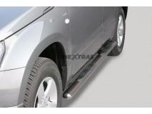 Side Steps Suzuki Grand Vitara 05-08 5D Stainless Steel GPO