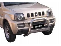 Big Bar U Suzuki Jimny 06-12 Diesel/Petrol Version Stainless Steel W/ EC
