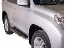 Side Steps Toyota Land Cruiser 150 2009+ 3D Stainless Steel W/ Platform