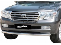 Front Protection Toyota Land Cruiser V8 J200 08-11 Stainless Steel 76ММ