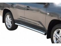 Side Protections Toyota Land Cruiser V8 J200 08-11 Stainless Steel Tube 76MM