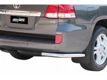 Bumper Corners Toyota Land Cruiser V8 J200 08-11 Stainless Steel 63MM