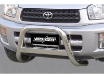 Big Bar U Toyota Rav 4 00-02 Stainless Steel W/O EC
