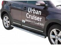 Side Steps Toyota Urban Cruiser 2009+ Stainless Steel GPO