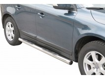 Side Steps Volvo XC60 2009+ Stainless Steel Tube 76MM