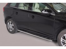 Side Steps Volvo XC60 2009+ Stainless Steel GPO