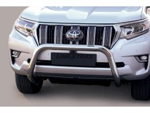 Big Bar U Toyota Land Cruiser 2018+ Stainless Steel 76MM W/EC