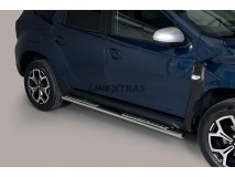 Side Steps Dacia Duster 2018+ Stainless Steel DSP