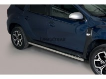 Side Protections Dacia Dokker 2012+ Stainless Steel Tube 63MM