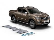 Full Underbody Kit Protection 6mm Aluminium Renault Alaskan Rival