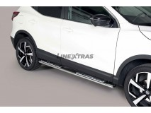 Side Steps Nissan Qashqai 2014+ Stainless Steel DSP
