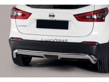 Rear Protection Nissan Qashqai 2017+ Stainless Steel 50MM