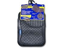 Kit 4 Goodyear Black Rubber Carpets
